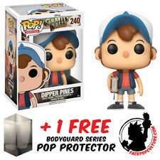 FUNKO POP DISNEY GRAVITY FALLS DIPPER PINES VINYL FIGURE + FREE POP PROTECTOR