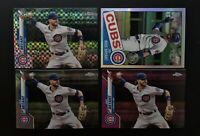 Kris Bryant 2020 Topps Chrome Xfractor + Pink Refractor + Refractor Chicago Cubs
