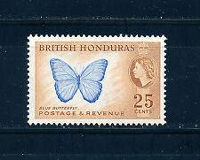 BRITISH HONDURAS 1953 DEFINITIVES SG186 25c BLOCK OF 4 MNH