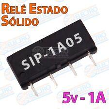 Mini rele estado solido 5v 1A SPST - SIP-1A05 - Arduino Electronica DIY