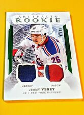 JIMMY VESEY RC!💥#1/99💥3 COLOUR ARTIFACT ROOKIE DUAL JERSEY PATCH 2016-17 MINT!