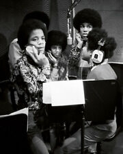 The Jackson 5 UNSIGNED photo - M8570 - Jackie, Tito, Jermaine, Marlon & Michael