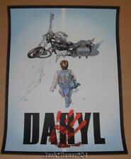 Daryl Dixon Zombie Hunter Walking Dead Art Print Poster Signed Numbered 2017