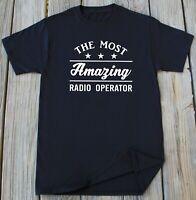 Radio Operator Profession Ham Radio Operating Tshirt Funny Gift