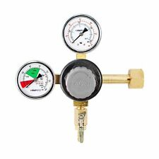 TAPRITE E-T742 CO2 REGULATOR Primary Dual High Pressure Gauge - Draft BEER/SODA