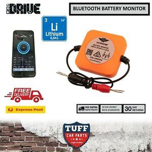 iDrive Bluetooth Lithium Battery Monitor Tester Alarm 12 Volt 4WD Car Caravan