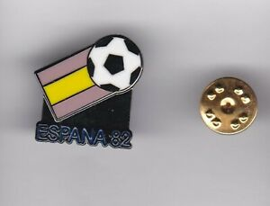 World Cup Logo - Espana'82 - lapel badge butterfly fitting