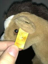 "10"" Steiff Horse Plush Doll Mohair My Antique Vintage Pony Little"