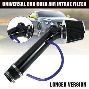 Cold Air Intake Filter Induction Kit Pipe Power Flow Hose System Car Universal