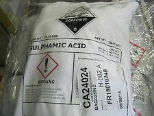 ACIDE SULFAMIQUE 99.5% SULPHAMIC ACID  PUR DETARTRANT 1 KG