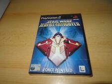 STAR WARS JEDI STARFIGHTER PS2 jeu NEUF scellé RU version PAL