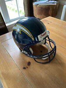 San Diego Chargers Riddell Authentic NFL Full Size Football Helmet, Sz L EUC