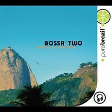 "SEALED "" Pure Brazil Bossa4Two "" - edu lobo, toquinho, tom jobim, m.valle, elis"