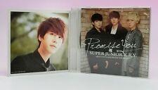 CD SUPER JUNIOR K.R.Y E.L.F JAPAN Limited Photo card Kyuhyun Promise You