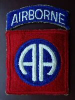 WWII 82nd Airborne Division Infantry Patch Tab Parachute Military Uniform SSI