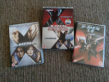 X-MEN 1.5 + X-MEN 2 - 4 X DVD SPECIAL EDITION ENGLISH CARDBOARD BOX PACK