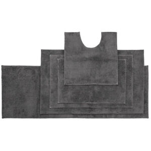 Bambury Microplush Bath Mat Pewter