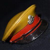 ☆ Action Man VAM Palitoy ☆ British Officer's Peak / Cap Hat 1966-84 1/6th Scale☆