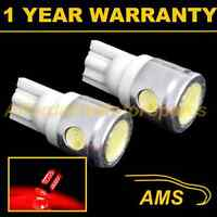 2X W5W T10 501 XENON RED 3 LED SMD SIDELIGHT SIDE LIGHT BULBS HID SL101105