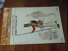 $$ Fascicule Osprey Soldats Guerre Napoleoniennes N°52 Armee anglaise en Egypte