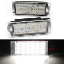 LED License Number Plate Light For Renault Laguna Clio Master Megane Trafic MK3