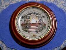 Glenna Kurz Cherish Your Family Plate Welcome Home Collection 1997 Bradford