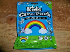 KIDS CARE PACK - Mask / Sanitizer / Wipes - Rainbow Theme - Stay Safe On The Go