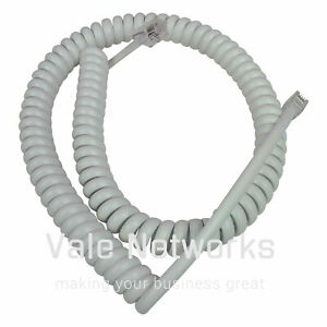 BT Decor 1200 Corded Phone Curly Cable NEW