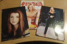 Dreamwatch Magazine Buffy And Willow Prints #66 Fiction