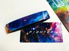 ZOX **FIGHTER** Silver Single med Wristband w/Card New Mystery Pack