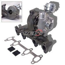 FOR AUDI/VW 1.9T TDI K04 GT1749V TURBO CHARGER + WASTEGATE + CAST IRON MANIFOLD