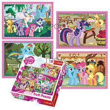 Trefl 4 In 1 35 + 48 + 54 + 70 Piece Girls Kids My Little Pony Jigsaw Puzzle NEW