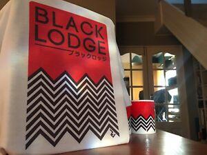 Twin Peaks Japanese Black Lodge T-Shirt - David Lynch Inspired by Minimalism