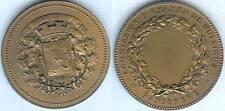 Médaille de table - FINIISTERE commission d'examen des notaires d=50,20mm triang