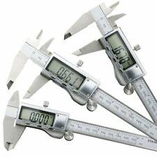 Digital LCD Gauge Micrometer 150mm Stainless Steel Electronic Vernier Caliper