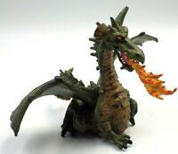 Figurine statuette pvc Dragon 10cm PAPO knights Medieval 2005