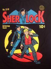 Sherlock Women's XL T-shirt Cumberbatch BBC Detective Conan Doyle