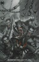 Batman Who Laughs #1 Excl. B&W Blood Red Cover B Lucio Parrillo Limited to 1500