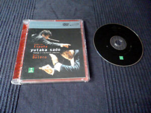DVD-a AUDIO Disc Chabrier Espana Yutaka Sado BOLERO Valses Surround Sound Erato