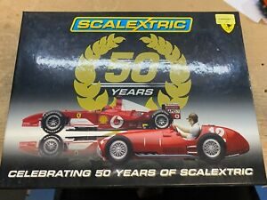 Scalextric Celebrating 50 years Boxed Set Ferraris C2782A