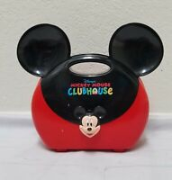 Disney Mickey Mouse Clubhouse Toy/ Lunch Box W/Clinical Tools Red Black