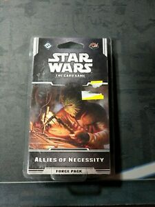 Star Wars LCG Card Game - Allies of Necessity Force Pack - Brand New, Sealed
