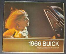 1966 Buick Brochure Skylark GS Wildcat Riviera LeSabre Electra Special Original