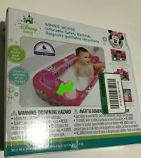 Disney Minnie Mouse Inflatable Safety Baby Bath Tub Pink
