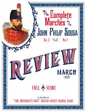 USMC The President's Own Complete Marches of John Philip Sousa Vol 1-3 Audio CDs