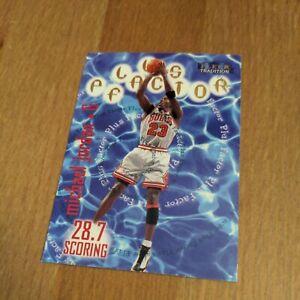 Michael Jordan 1998-99 Fleer Tradition Plus Factor #142