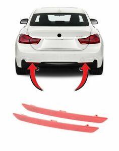 REAR M SPORT BUMPER REFLECTOR SET FOR BMW 4 SERIES F32 M SPORT13-18