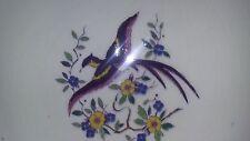 anciennes assiettes a dessert  emaux boch la louviere oiseau art deco nouveau