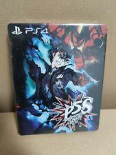 Persona 5 Scramble - Steelbook - Custom - Neu/new - NO GAME - kein Spiel