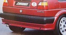 ZENDER Rear Lower Apron Under Bumper Spoiler, Golf 2 MK2 GTI 1985-1992
